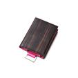 iPod classic case 黒檀×PINK