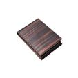 pocket tissue case 黒檀×BROWN